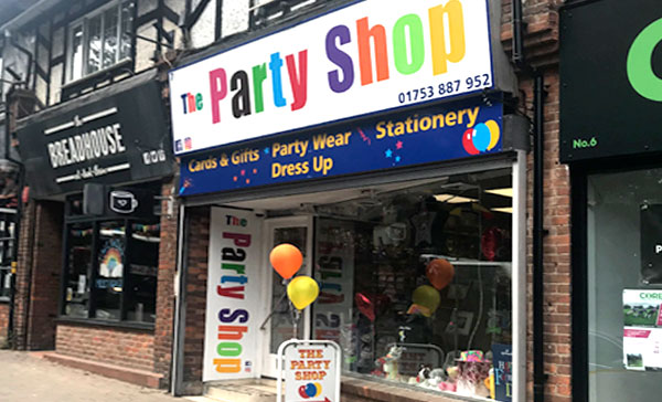 the party shop store